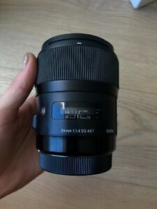 Sigma 35mm f/1.4 DG HSM Lens for Canon