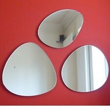 Group of Pebble Mirrors