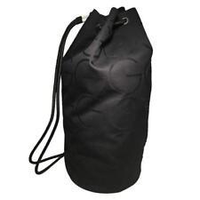 RARE Gucci Black Canvas Monogram Sling Bag Backpack Shoulder Tote