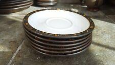 Denby Marrakesh Tea Saucers x 6 Excellent Condition