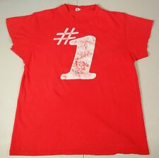 Rare 1979 Number One Music Of The Year Radio Billboard Hanes T-Shirt Sz. L 42-44
