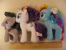 My Little Pony MLP Rainbow Dash Plush Toys Ponies Blue Toy