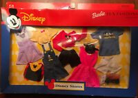 New Disney Mickey Mouse Barbie Doll Clothes Fun Fashion Disney Store Minnie 2000