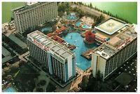 Vintage Disneyland Hotel Aerial View Postcard 7/83 (1983) Unposted