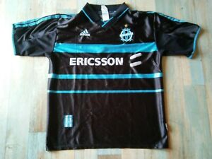 MAILLOT FOOT ADIDAS OM OLYMPIQUE DE MARSEILLE ERICSSON TAILLE M/D5 BE