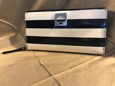 Kate Spade New York Neda Style Black / Cream Wallet Zip Around WLRU 1607 68