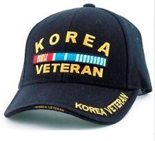 Korea Veteran RIBBONS Ball Cap US Army Marine Corps Navy USAF Korean War Vet Hat