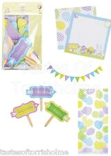 Kitchen Craft Hoppity Easter Childrens Egg Hunt Bunting, Signs, Treat Bags Set