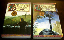 2 Books SIGNED by Jack Whyte SORCERER FORT RIVER BEND METAMORPHOSIS DREAM EAGLES