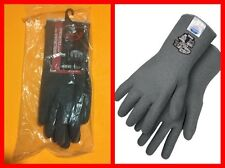 BOB DALE 99-1-9750-7 Ninja Star 3 Synthetics Full Crinkle Latex Gloves Sz 7 NWT