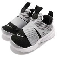 Nike Presto Extreme TD Grey Black White Toddler Infant Baby Shoes 870019-006