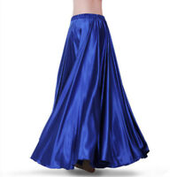 Lady Latin Salsa Flamenco Long Skirt Ballroom Dance Modern Tango Waltz Swing Red