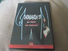 """RARE! DVD """"VENDREDI 13, CHAPITRE 2 II : LE TUEUR DU VENDREDI"""" horreur"""
