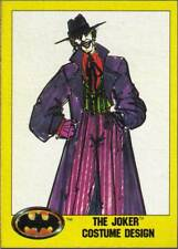 1989 Topps Batman #198 The Joker Costume Design