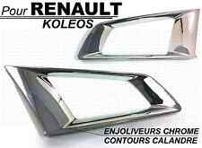 RENAULT KOLEOS 2008-11 CHROME FRONT GRILL COVER TRIM SURROUND AROUND DECORATION