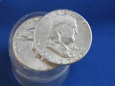 1963-P Franklin Half Dollar BU Roll Of 20 B3806