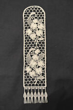 Lace Bookmark - Flowers - Lily of the Valley