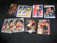 LOT (10) REGGIE MILLER AUTHENTIC COLLECTIBLE NBA BASKETBALL CARDS LEGEND STAR