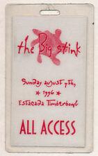 Big Stink 1 Music Fest _Rare_ 1996 Backstage Laminate Pass - Everclear Prodigy