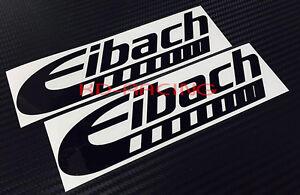 Eibach Stickers Decals Pro Kit Lowering Springs Suspension Prokit x 2 pcs.