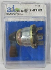 New A&I Products Switch Turn Signal Flasher A-881670M1 Massey Ferguson Tractor