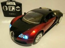 Bugatti Veyron Radio Remote Control Car 1/14 Front & Back Lights - New Boxed