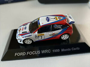 Ford Focus Wrc 1999 Monte Carlo 1/64 cm's  Rally