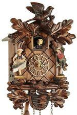 Trenkle -schwarzwaldtänzer 26cm- 385 qm hzzg Coucou Pendule à bois véritable