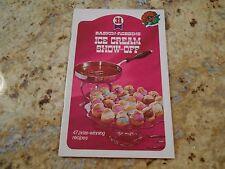 Baskin Robbins Ice Cream Show-off  47 prize winning recipes