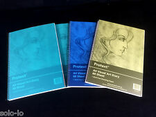 Bulk 4 x A4 visual art diary 60 sheets acid free drawing Sketch paper 120Gsm