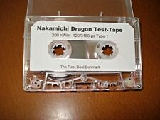 Calibration / Reference/Azimuth  tape for Nakamichi Dragon or 480 /  BX-1 decks