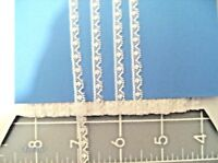 """FRENCH COTTON LACE~1/4""""~WHITE~TINY DOLL TRIM~HEIRLOOM SEWING~ANTIQUE DOLLS~C"""