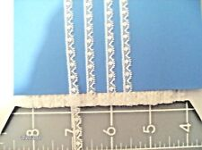 "FRENCH COTTON LACE~1/4""~WHITE~TINY DOLL TRIM~HEIRLOOM SEWING~ANTIQUE DOLLS~C"