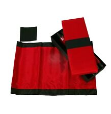 Tablemat Set of Four - Red and Black