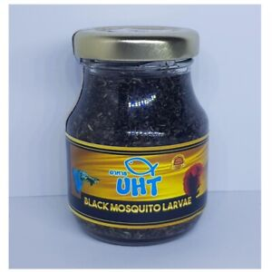 Betta Food Ornamental fighting Fish Shrimp UHT Black Mosquito Larvae 75 g