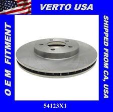 Disc Brake Rotor- Front  Verto USA  54123X1 fit Ford , Mazda , Mercury