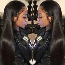 Glueless  Brazilian Hair Full Lace Wig Lace Front wigs silky straight Wave