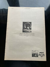 David Bowie Young American Original Advert 1975