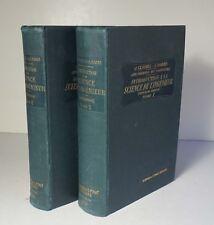 Introduction a la Science de L'Ingenieur 2 Vols 1913 Claudel Science Engineering