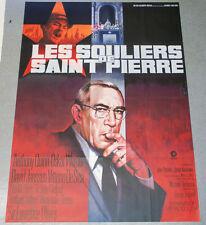 Affiche de cinéma : LES SOULIERS DE SAINT PIERRE de Michael ANDERSON