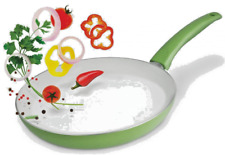 28cm Easy Cook Ceramic Fry Frying Pan Induction Safe- Assorted Colours