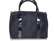 Armani JR. NEW GIRLS TOP HANDLE CANVAS HANDBAG w/ ALL OVER LOGO RTL: $185 Q155