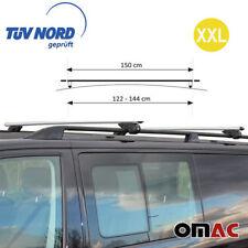 VW T5 T6 ALU Dachträger Dachgepäckträger 150cm GRAU mit Schlüssel TUV ABE
