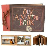 Album photo vintage Notre livre d'aventure Souvenir DIY Anniversaire Cadeau PS