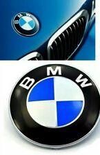 Logo BMW 74 MM pour capot coffre insigne badge bleu blanc Motorsport serie