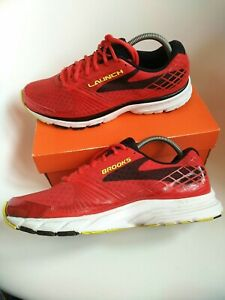 Brooks launch mens running shoes size 8.5 red ghost dna gts