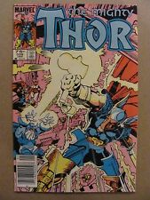 Thor #339 Marvel Beta Ray Bill app Canadian Newsstand $0.75 Price Variant