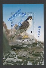Tajikistan - 2001,Asiatique Tampon Exh Birds Of Prey Optd Feuille - MNH - Sg