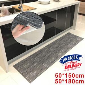 Home Floor Rug Home Non-Slip Thick Door Mat Machine Washable Carpet Kitchen ACB#
