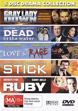 Stick - Gray Lady Love & Rage Ruby Dead In the Water DVD - All Zone - New - PAL
